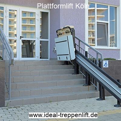 Plattformlift neu, gebraucht oder zur Miete in Köln
