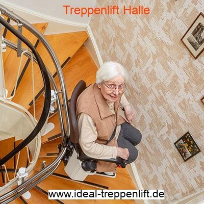 Treppenlift-Halle Logo