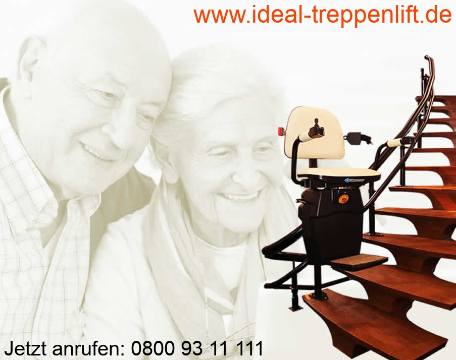 Treppenlift Halle von Ideal Treppenlift